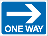 One way - arrow right sign