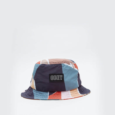 Bucket hat featuring an OBEY patch at the front.