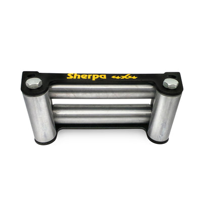 winch fairlead warn runva sherpa ironman