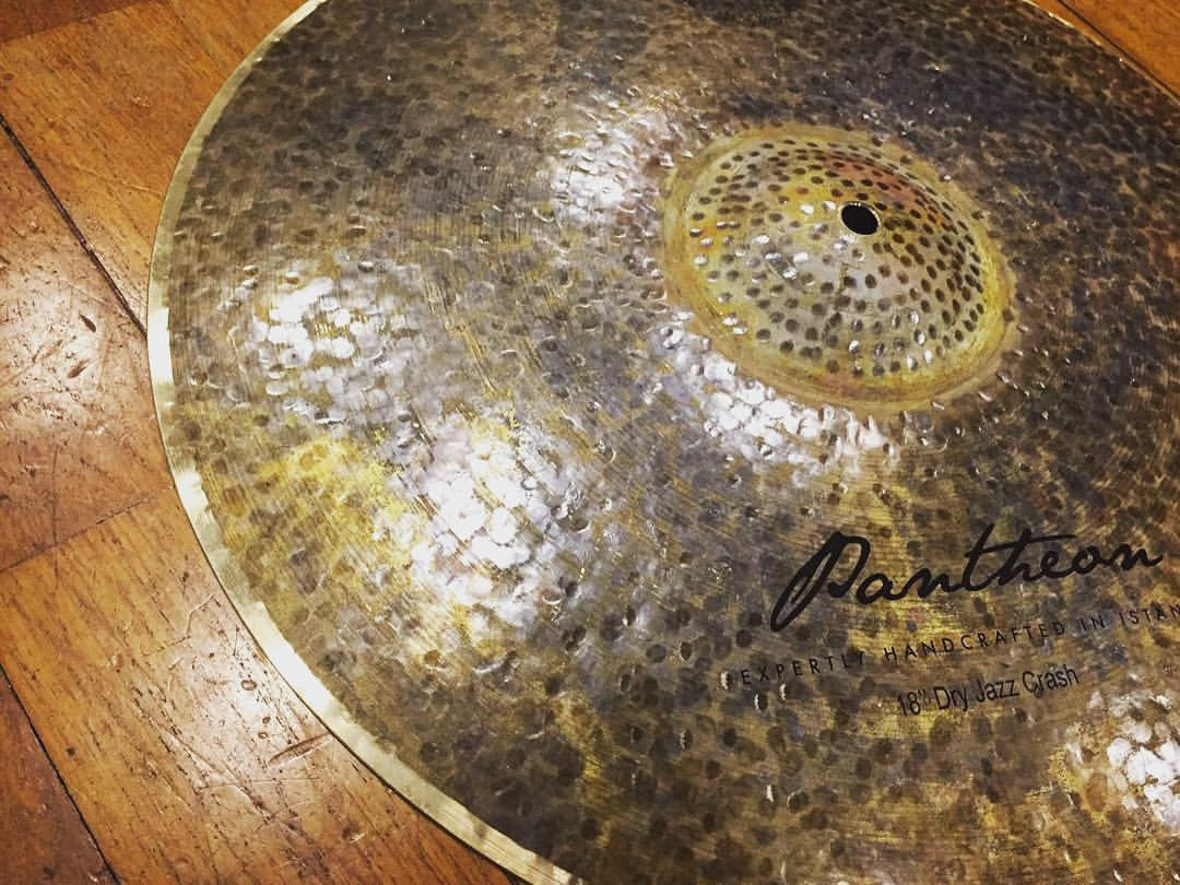 'Dry Jazz' cymbals