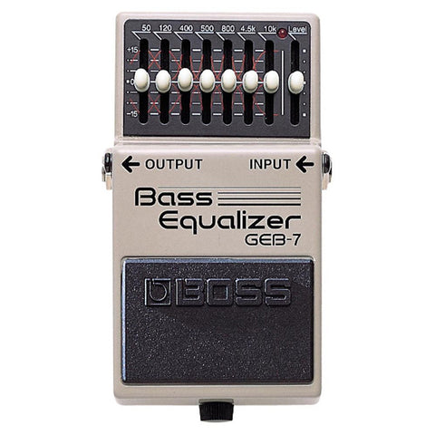 Boss GEB-7 Bass Guitar EQ