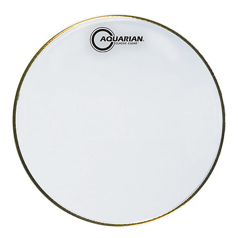 Aquarian Classic Clear Resonant Snare Heads
