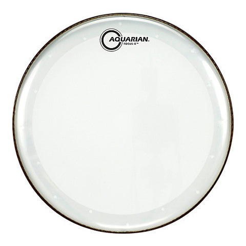 Aquarian Focus X Clear 1 Ply Drum Heads
