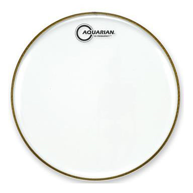 Aquarian Hi Frequency Clear 1 Ply Drum Heads