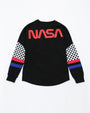 KIDS GREAT SPACE RACE KIDS LS SHIRT-COLOR: BLACK