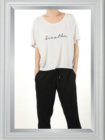 BREATHE reflection tee