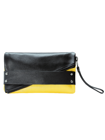 TRIFECTA hand strap clutch