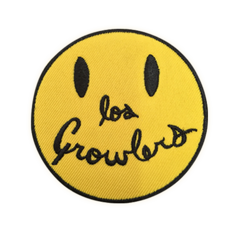 Smiley Face Patch - The Growlers - 1