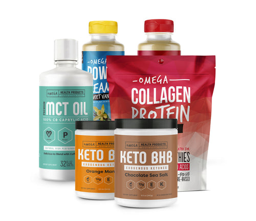 collagen mct oil keto bhb exogenous ketones