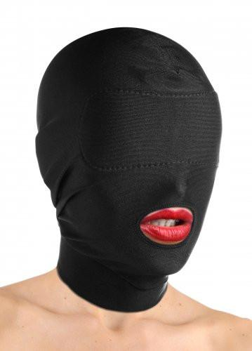Disguise Open Mouth Hood with Padded Blinfold BDSM > Blindfolds, Masks, & Hoods Master Series