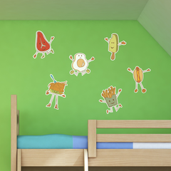 Fun Foods Room Icons