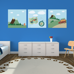 Camping Room Squares
