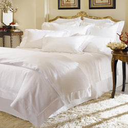 Sferra Giza 45 Percale Bedding - White