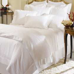 Sferra Milos Bedding - White
