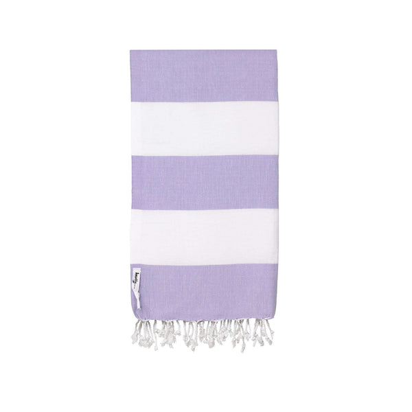 Knotty Capri Turkish Towel - LILAC - Knotty.com.au