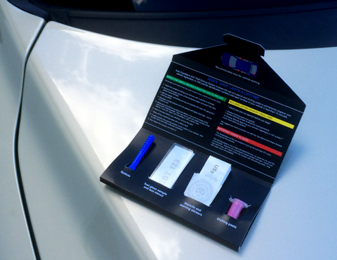 Auto Guardian Anti-Theft Etching System