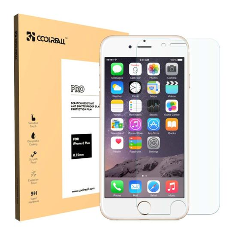 CoolReall™ iPhone 6 Plus 5.5 INCH Tempered Glass Screen Protector Film (0.33mm)