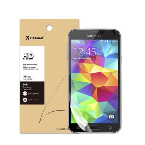 CoolReall™ Samsung Galaxy S5 Premium Ballistic Glass Screen Protector
