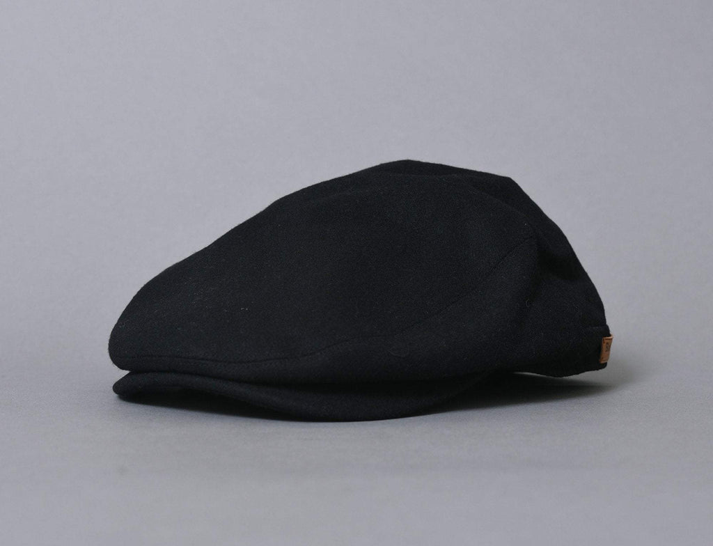 Barbour Redshore Flat Cap Black