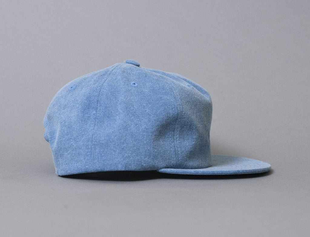 Stussy Washed Oxford Canvas Cap Navy