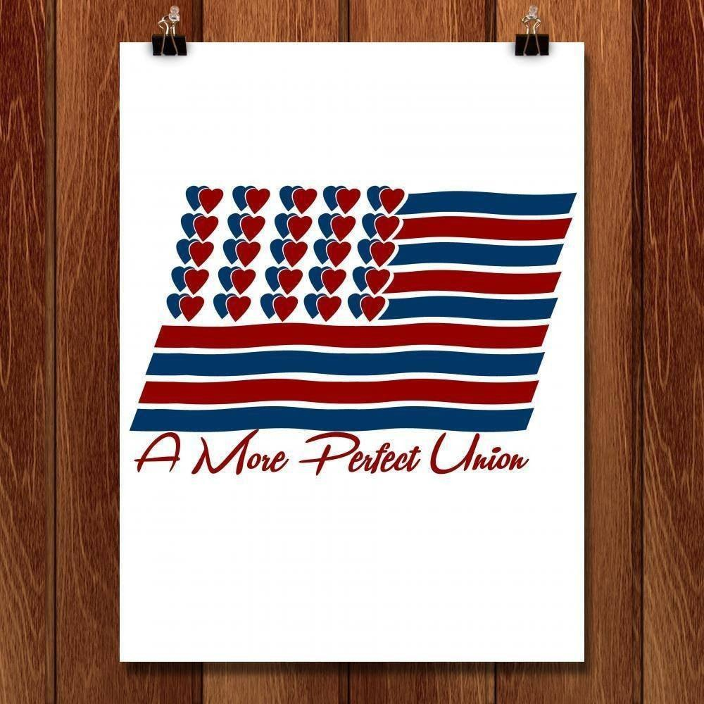 "A More Perfect Union 1 by Laura Ayala 18"" by 24"" Print / Unframed Print A More Perfect Union"