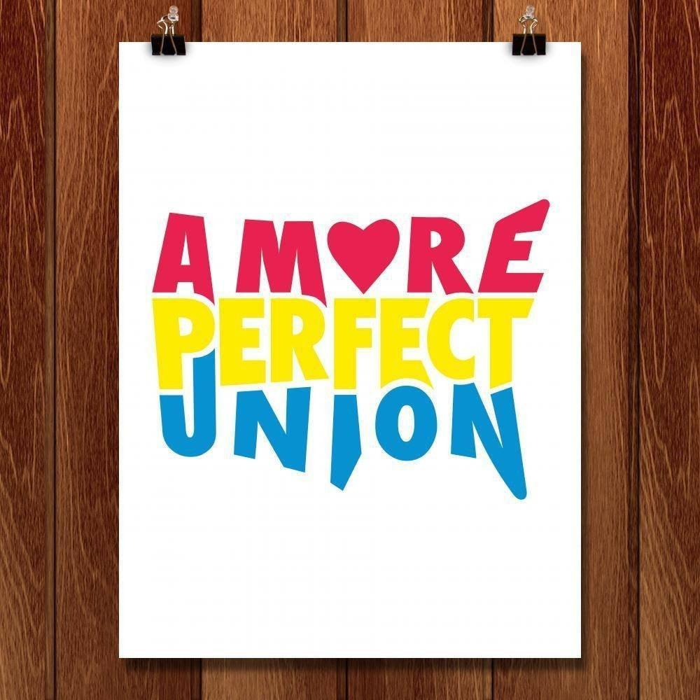 "A More Perfect Union by Design by Goats 18"" by 24"" Print / Unframed Print A More Perfect Union"