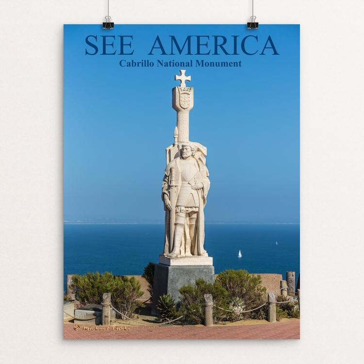 "Cabrillo National Monument by michael burke 12"" by 16"" Print / Unframed Print See America"