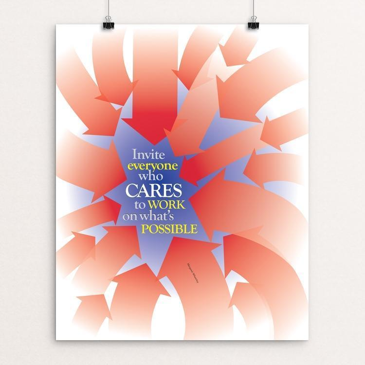 "CARES by Karl Tani 16"" by 20"" Print / Unframed Print 1200 Posters"