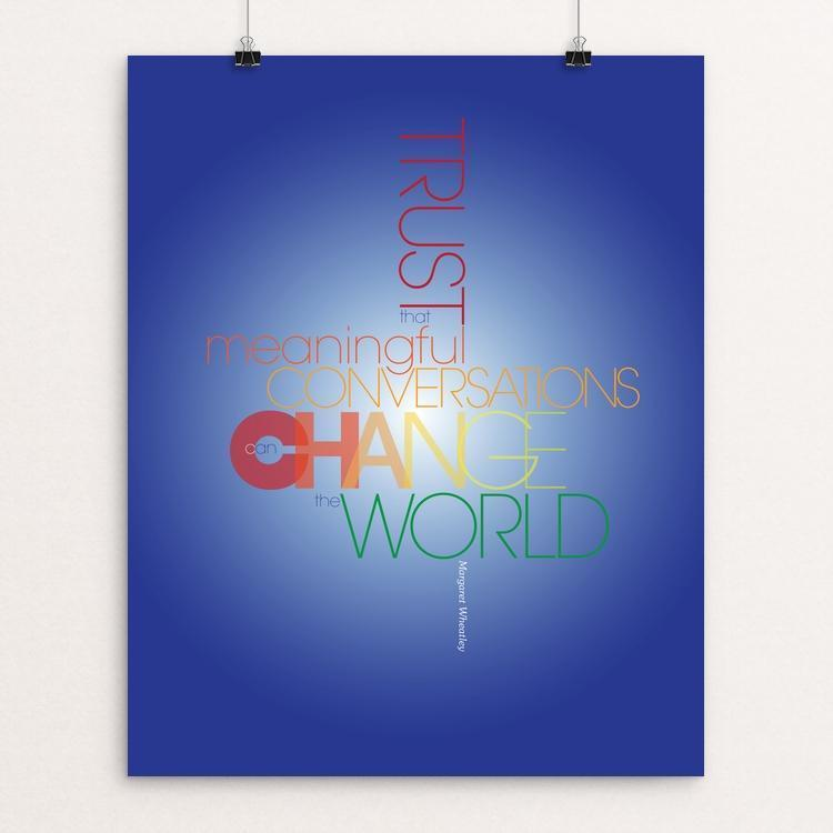 "CHANGE by Karl Tani 16"" by 20"" Print / Unframed Print 1200 Posters"