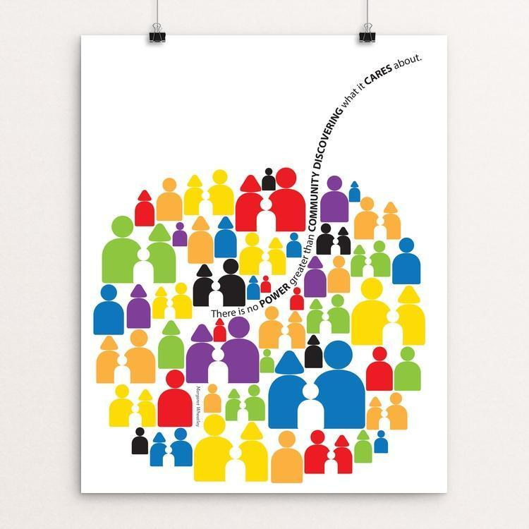 "COMMUNITY by Karl Tani 16"" by 20"" Print / Unframed Print 1200 Posters"