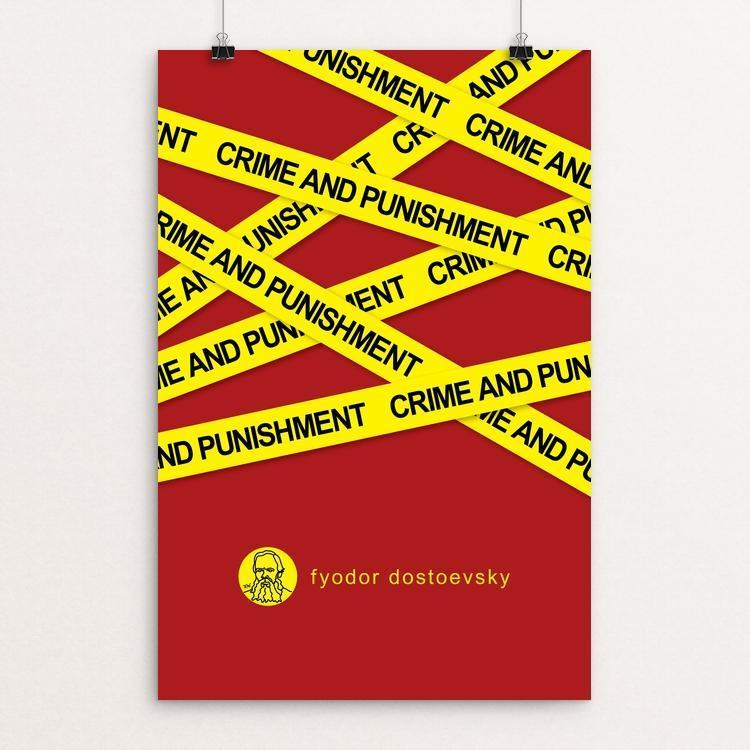 "Crime and Punishment by Robert Wallman 12"" by 18"" Print / Unframed Print Recovering the Classics"