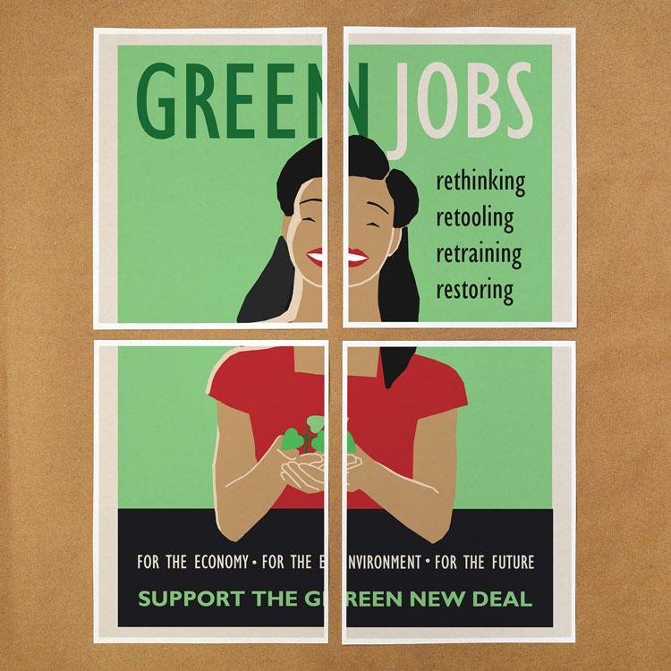 Green New Deal Print-at-Home Protest Posters 2 PDF Document Print-at-Home Protest Posters Green New Deal