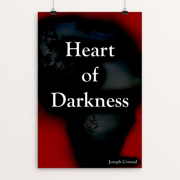 "Heart of Darkness by Aaron Able 12"" by 18"" Print / Unframed Print Recovering the Classics"