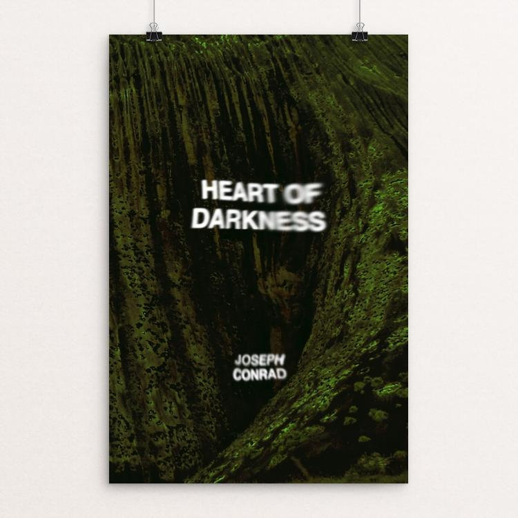 "Heart of Darkness by Fernando Horta 12"" by 18"" Print / Unframed Print Recovering the Classics"