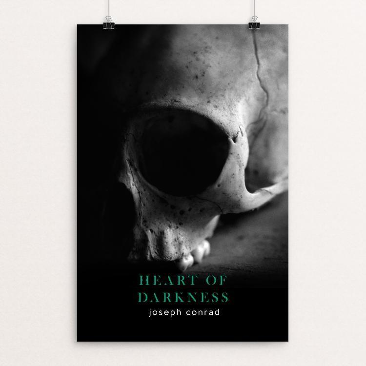 "Heart of Darkness by Nick Fairbank 12"" by 18"" Print / Unframed Print Recovering the Classics"