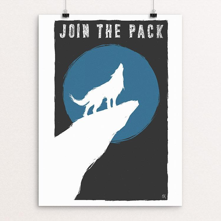 "Join the Pack by Shane Henderson 18"" by 24"" Print / Unframed Print Join the Pack"