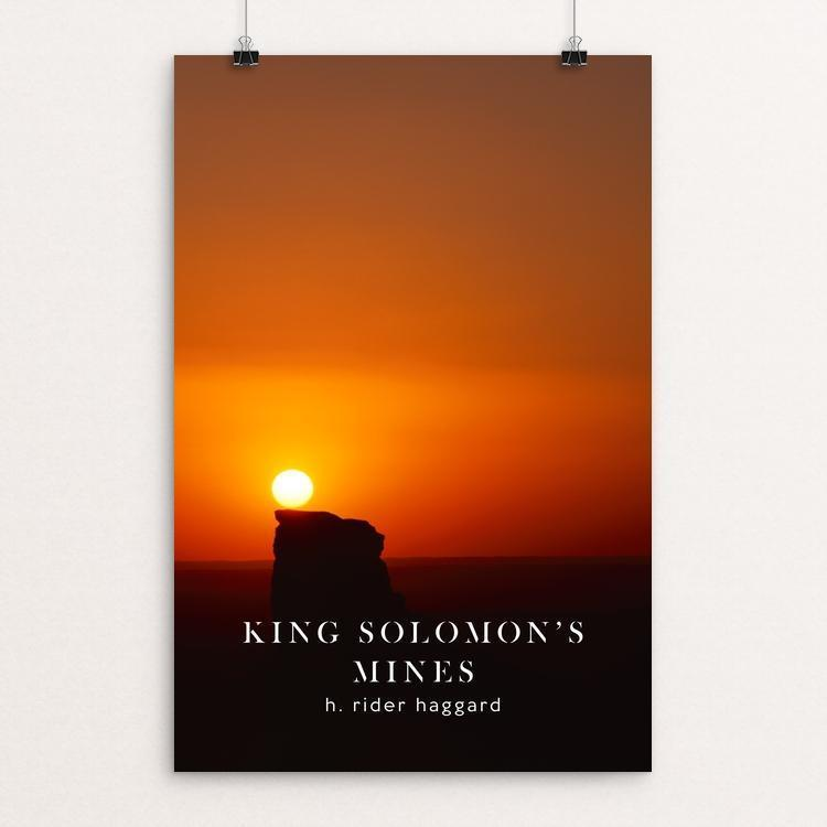 "King Solomon's Mines by Nick Fairbank 12"" by 18"" Print / Unframed Print Recovering the Classics"