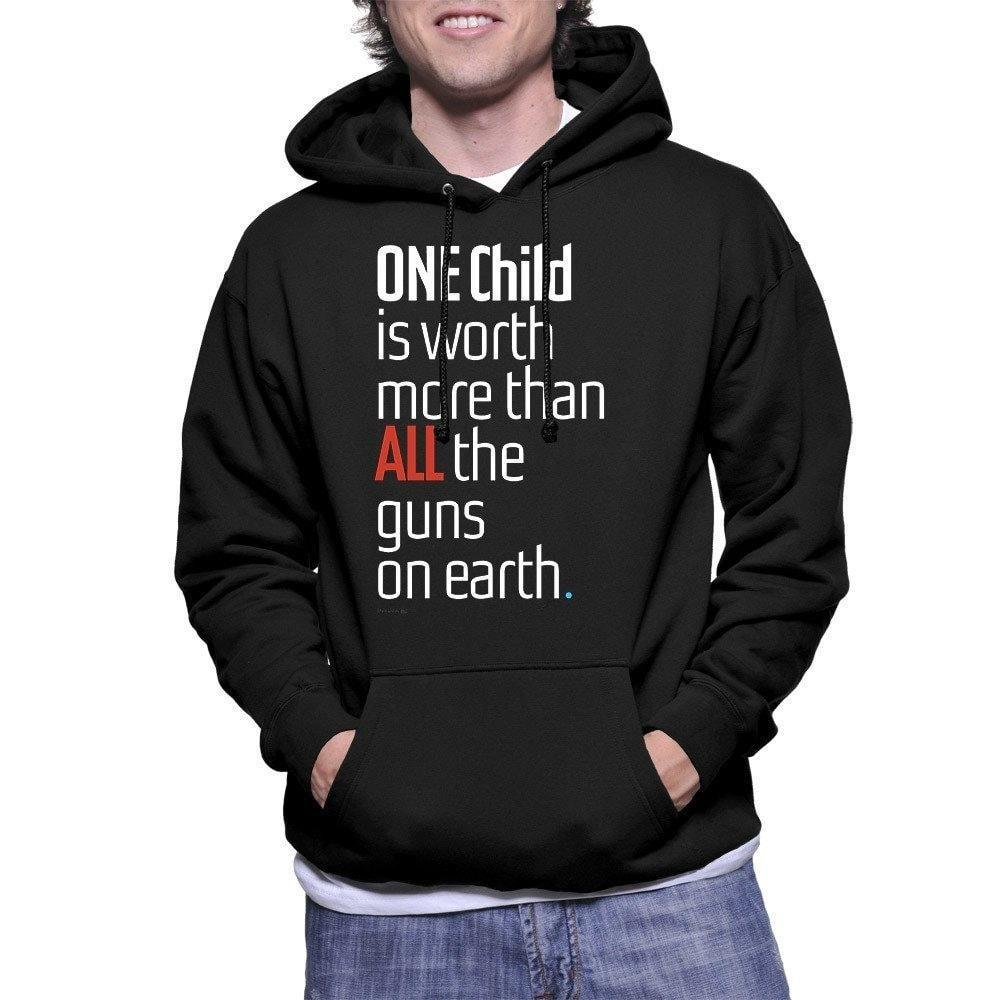 ONE Child is Worth More Hoodie by Chris Lozos S Hoodie The Gun Show