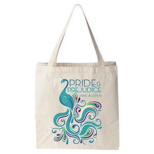 Pride and Prejudice Tote Bag by Alexis Lampley Tote Bag Recovering the Classics