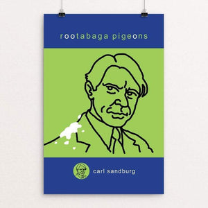 "Rootabaga Pigeons by Robert Wallman 12"" by 18"" Print / Unframed Print Recovering the Classics"