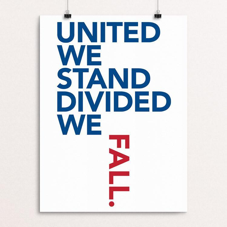 "Stay United! by Lynne Smyers 12"" by 16"" Print / Unframed Print Creative Action Network"