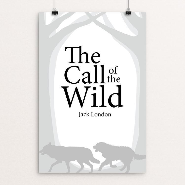 "The Call of the Wild by Falon Beere 12"" by 18"" Print / Unframed Print Recovering the Classics"