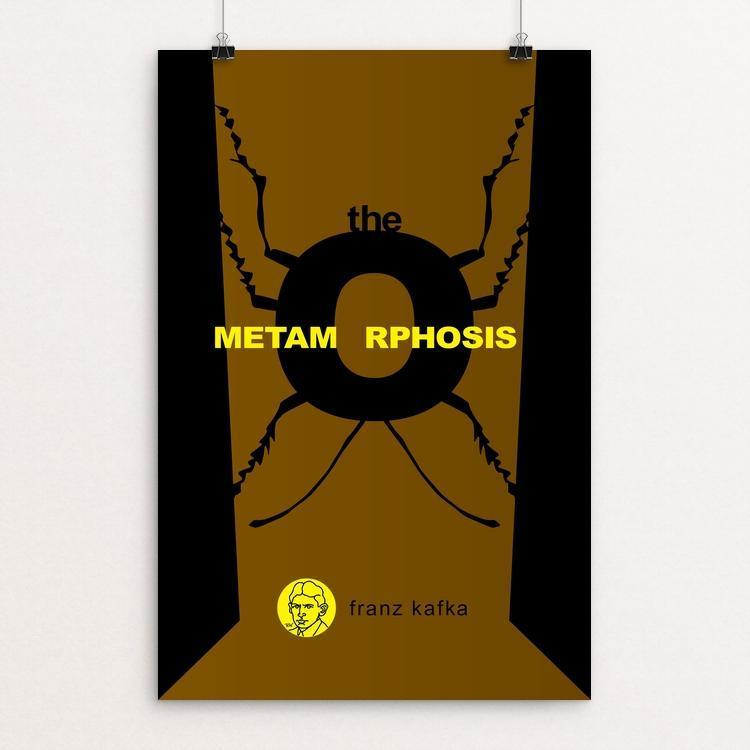 "The Metamorphosis by Robert Wallman 12"" by 18"" Print / Unframed Print Recovering the Classics"