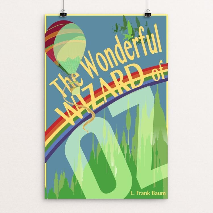 "The Wonderful World of Oz by Don Dauphinee 12"" by 18"" Print / Unframed Print Recovering the Classics"