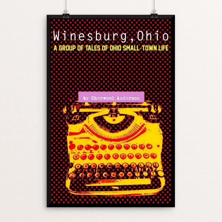 "Winesburg, Ohio by Bob Rubin 12"" by 18"" Print / Unframed Print Recovering the Classics"