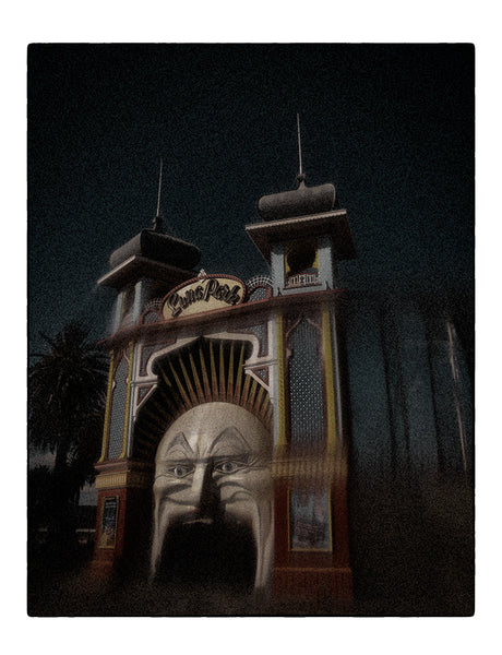 Christopher Rimmer 'Luna Park 7' - pigment print on paper