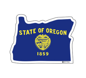 OR State Flag Sticker