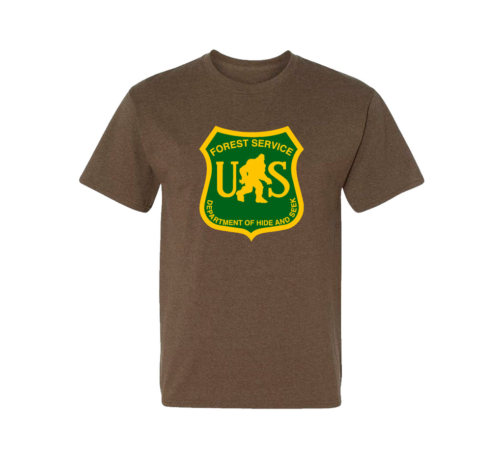 Bigfoot Forest Service Soft Style Tee