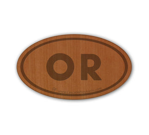 Euro OR Real Wood Magnet