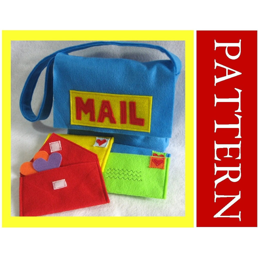 Sewing Pattern - Mail Bag with Working Envelopes